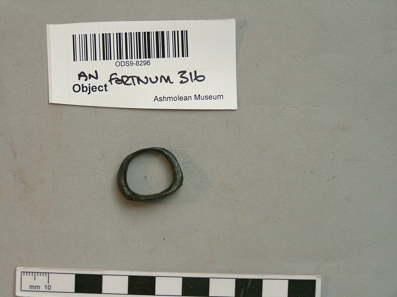 Legionary finger-ring (ANFortnum.FR.316, record shot)