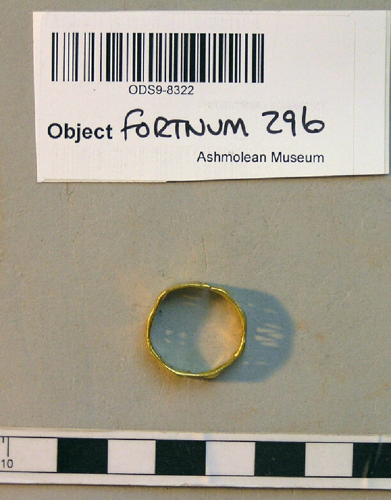Finger-ring with Greek inscription (ANFortnum.FR.296, record shot)