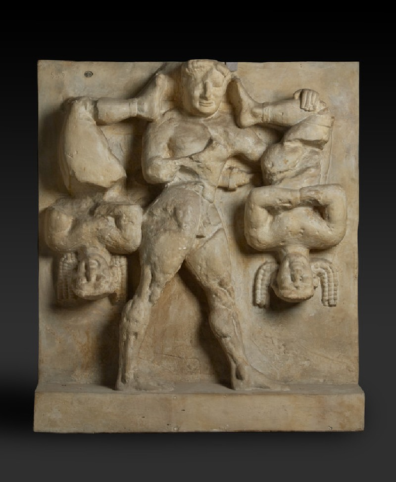 Cast of a metope from Temple C, Selinous
