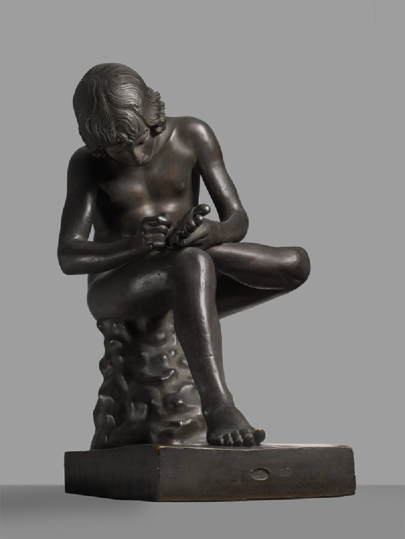 Cast of the Spinario (thorn-puller) (CG.B.190)