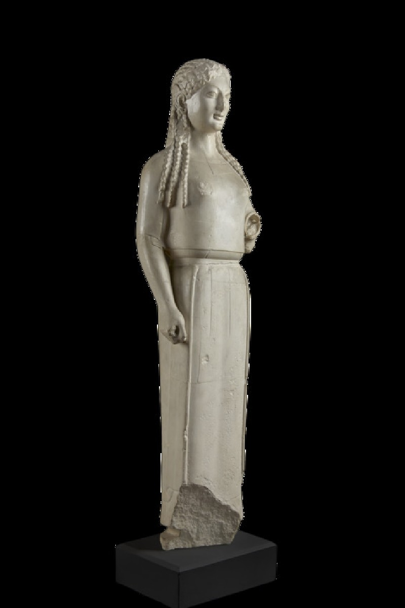 Cast of the Peplos Kore from the Acropolis, Athens