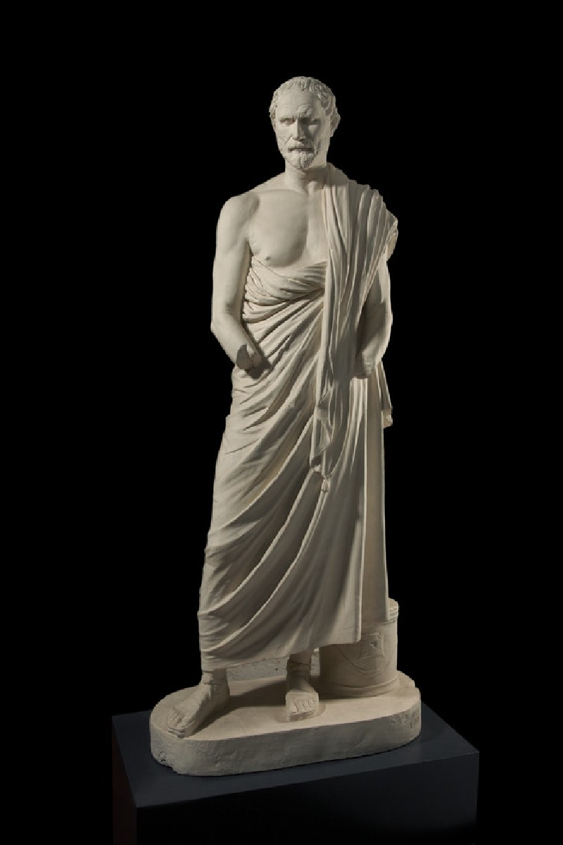 Cast of a portrait statue of Demosthenes