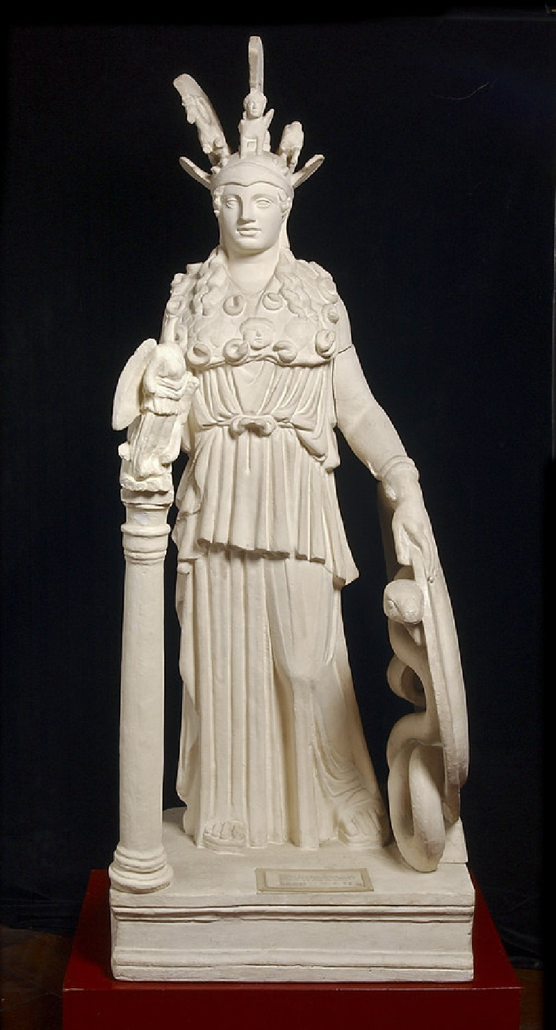 Cast of the Varvakeion Athena from Athens (CG.C.76)