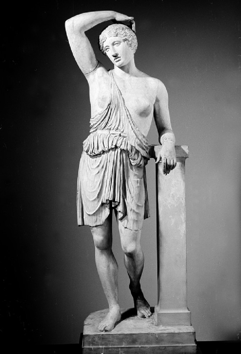 Cast of a statue of an Amazon in Lansdowne type, from Rome