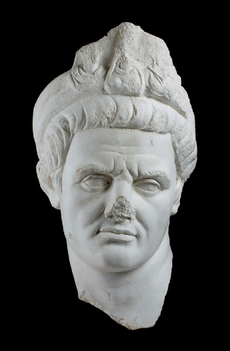 Cast of the portrait head of a priest, from Aphrodisias