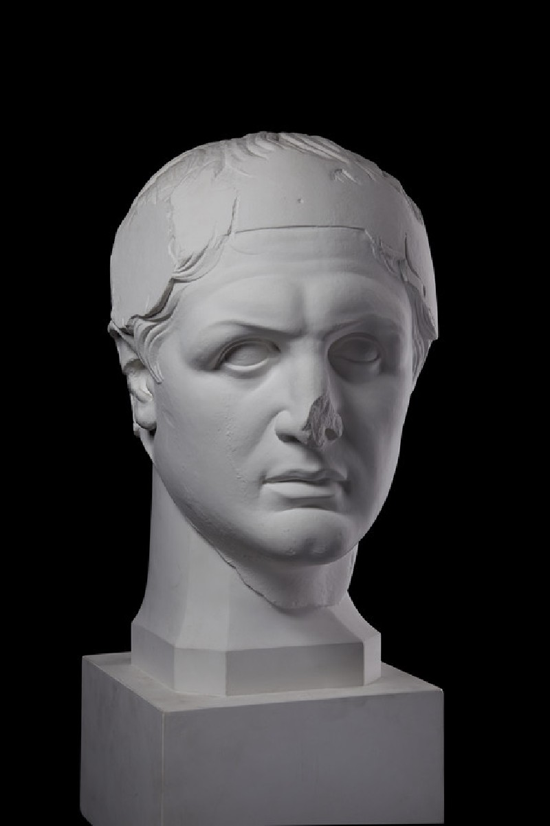 Cast of a portrait head of Attalos I as a dynast, from Pergamon (CG.H.69)