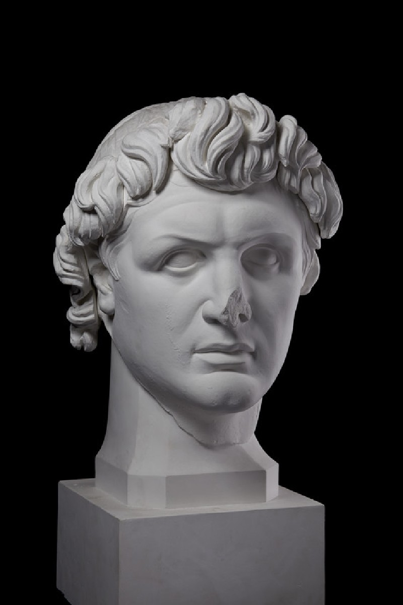 Cast of the portrait head of Attalos I as king, from Pergamon