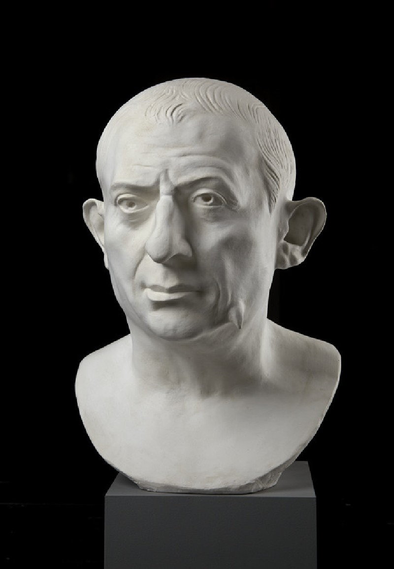 Cast of the portrait bust of L Caecilius lucundus, from Pompeii