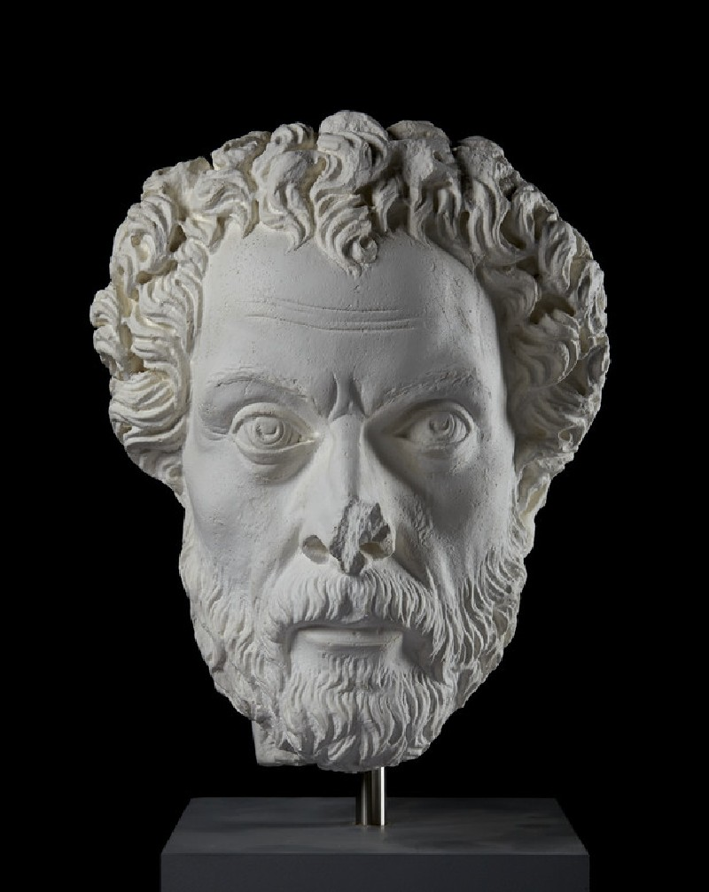 Cast of a portrait head of a man from Aphrodisias (CG.H.76)