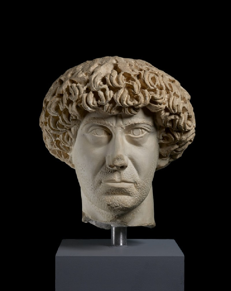 Cast of a portrait head of Flavius Palmatus, from Aphrodisias (CG.H.95)