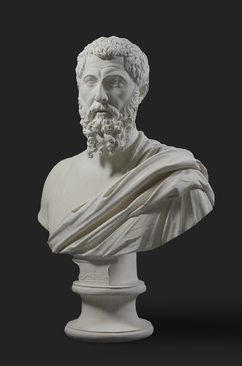 Cast of the bust of a bearded man, from Smyrna (CG.H.99)