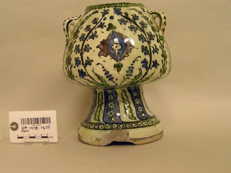Mosque lamp (EA1978.1475, record shot)