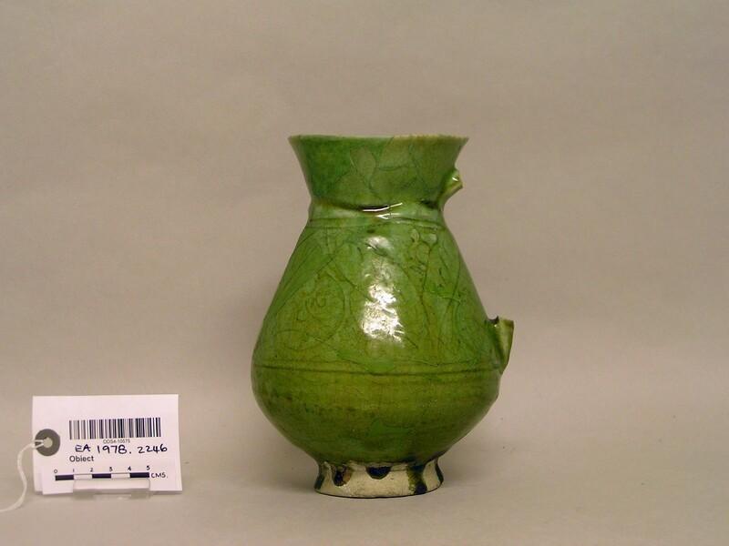 Jug with vegetal decoration (EA1978.2246, record shot)