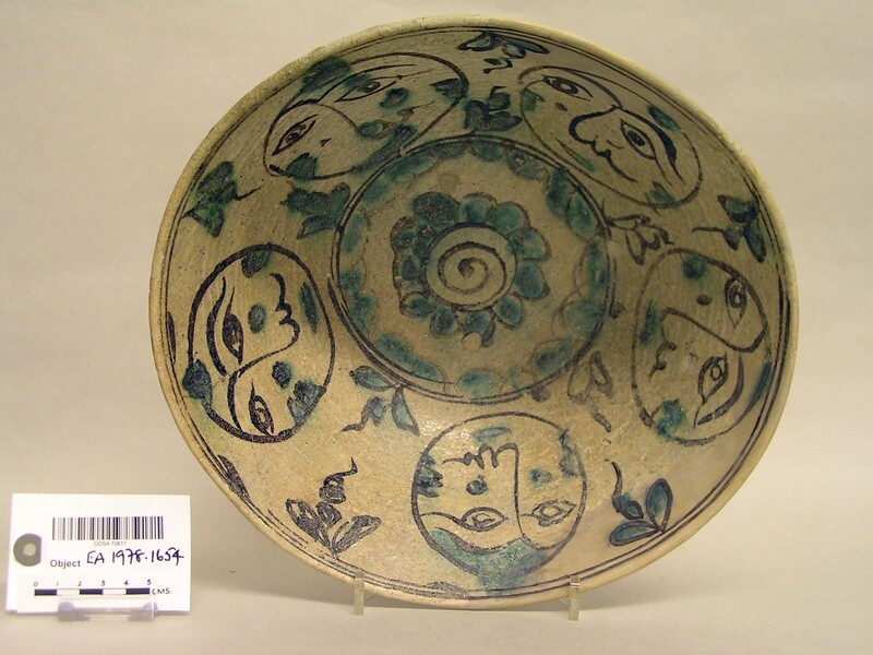 Bowl with moons