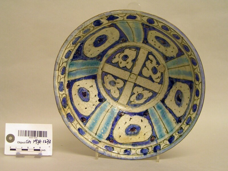 Bowl with circles and flowers (EA1978.1673, record shot)