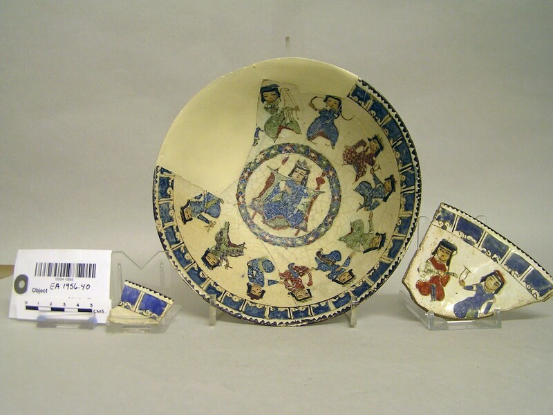 Bowl with enthroned figure (EA1956.40, record shot)