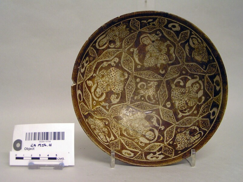 Bowl with seated figures (EA1956.111, record shot)
