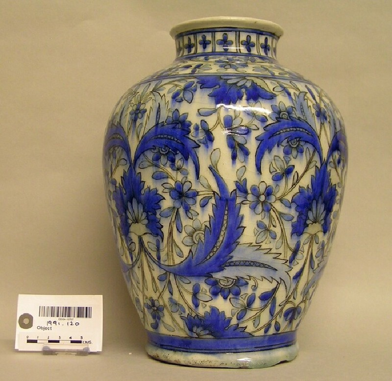 Vase by William de Morgan