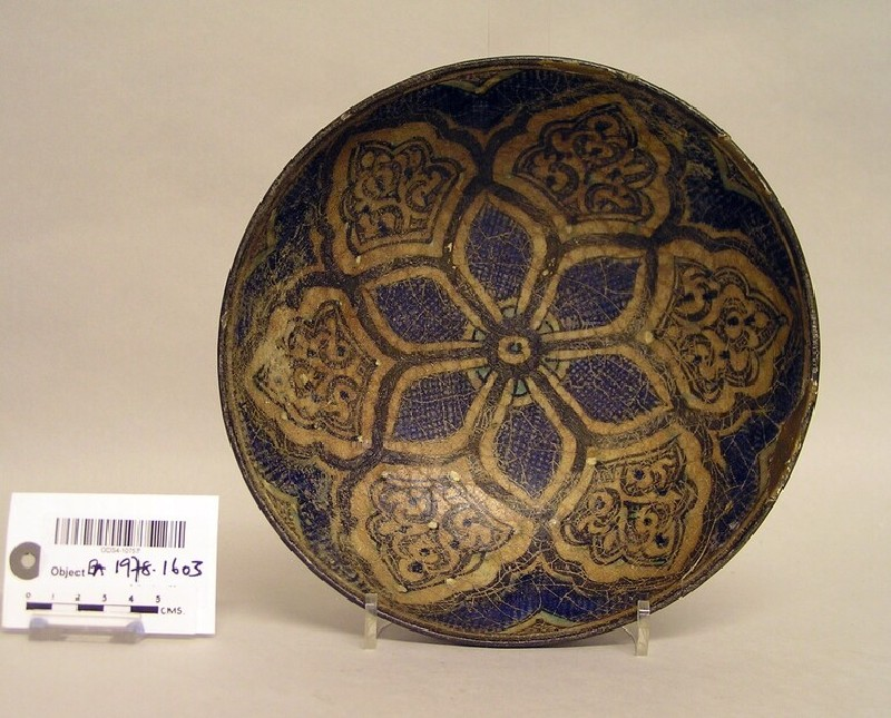 Bowl with six-petalled motifs (EA1978.1603, record shot)