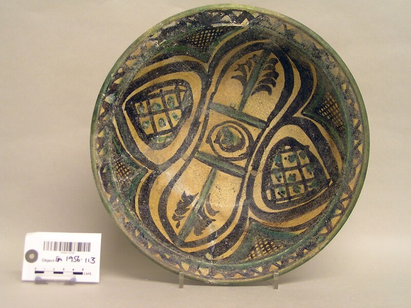 Bowl with four-petalled design (EA1956.113, record shot)