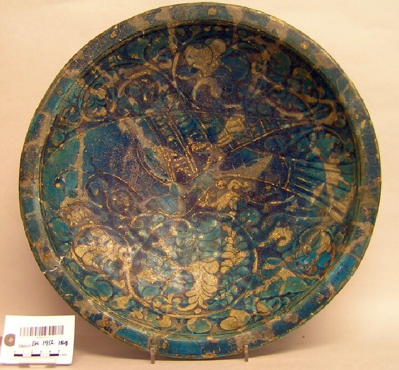 Dish with bird (EA1956.184, record shot)