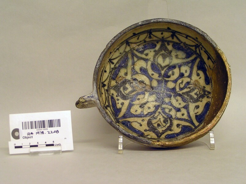 Cup with stylised vegetal decoration (EA1978.2208, record shot)
