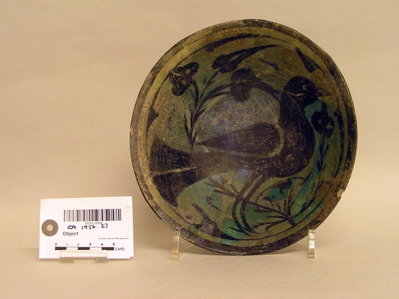 Bowl with bird and flowers (EA1956.37, record shot)