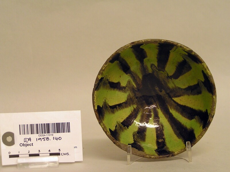 Bowl with radial decoration (EA1958.140, record shot)