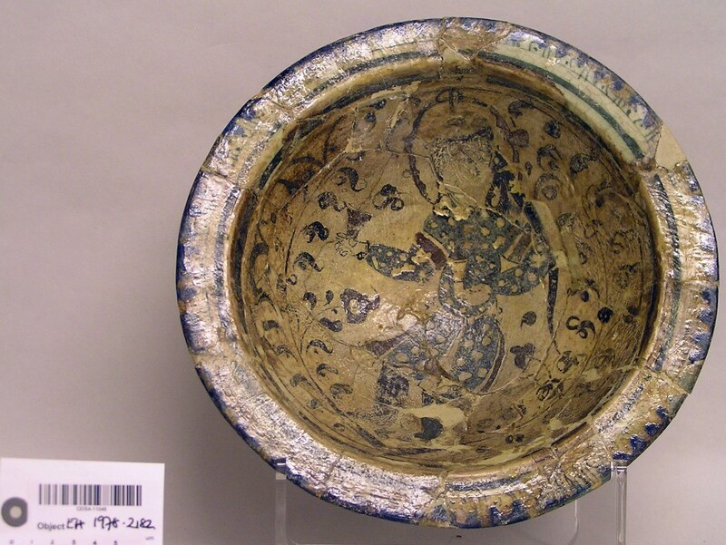 Bowl with figure