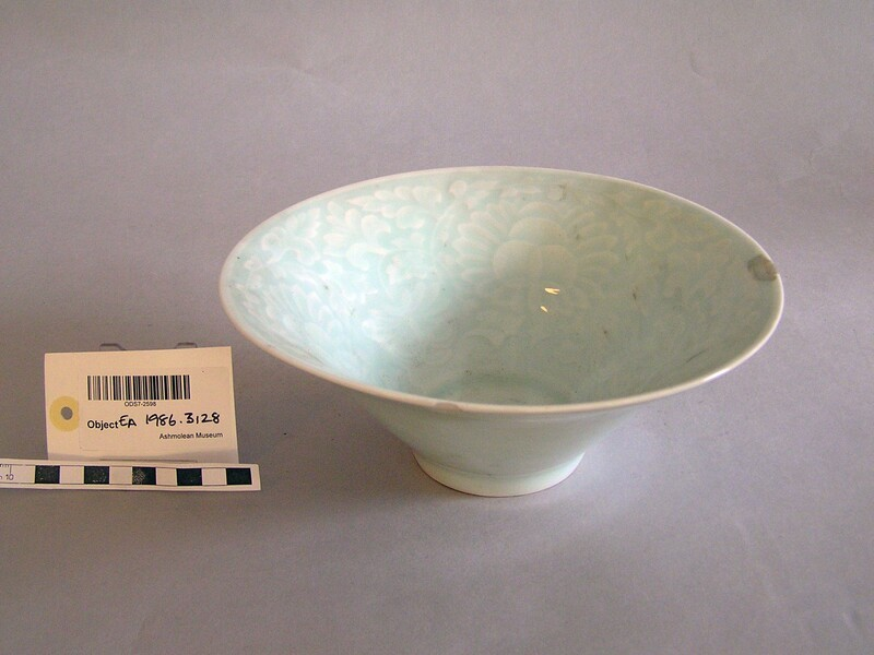 Bowl with floral decoration (EA1963.82, record shot)