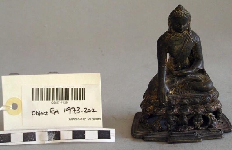 Figure of seated Buddha (EA1973.202, record shot)