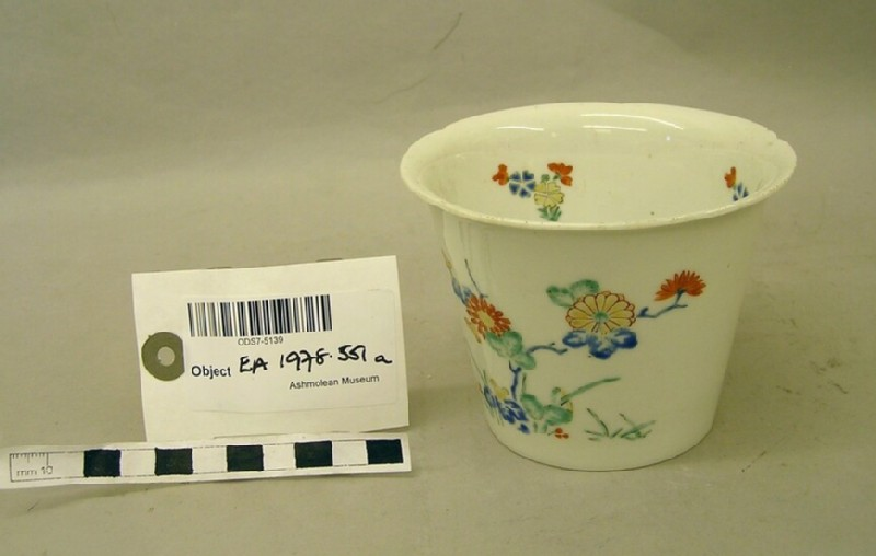Beaker with blossoms and floral sprays (EA1978.551.a, record shot)
