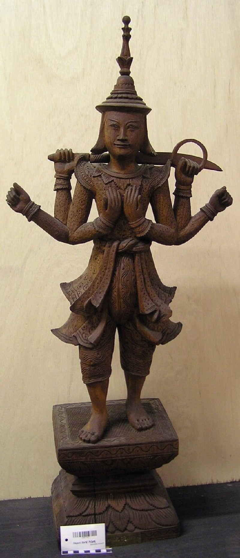 Figure of Taungmagyi Nat (EAX.7319, record shot)