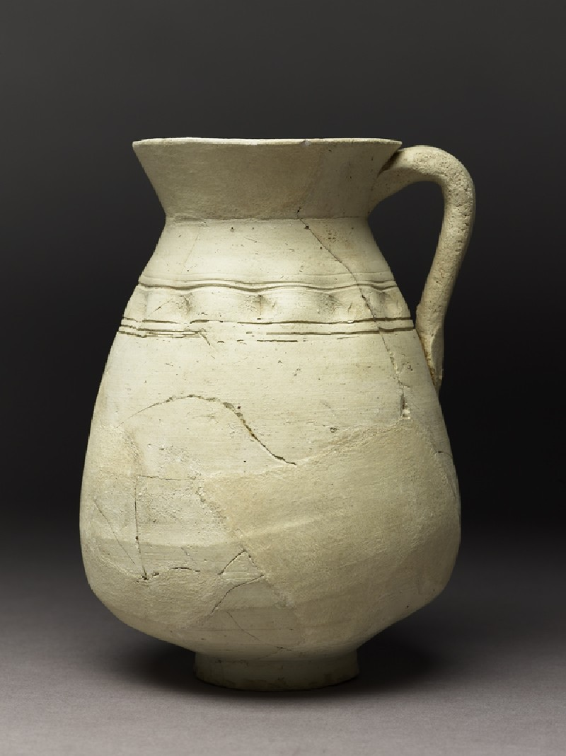 Jug with frieze of finger indents