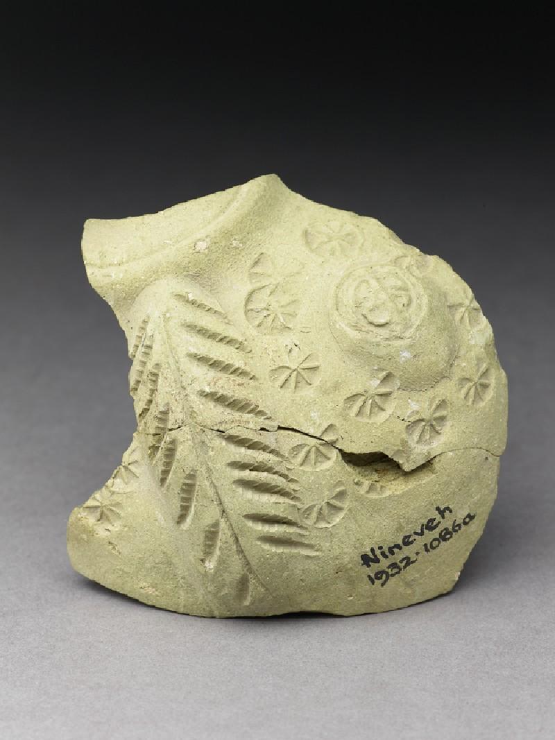 Fragment of a vase