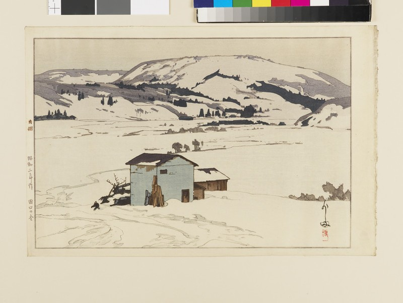 Winter in Taguchi (EA1952.683, front)