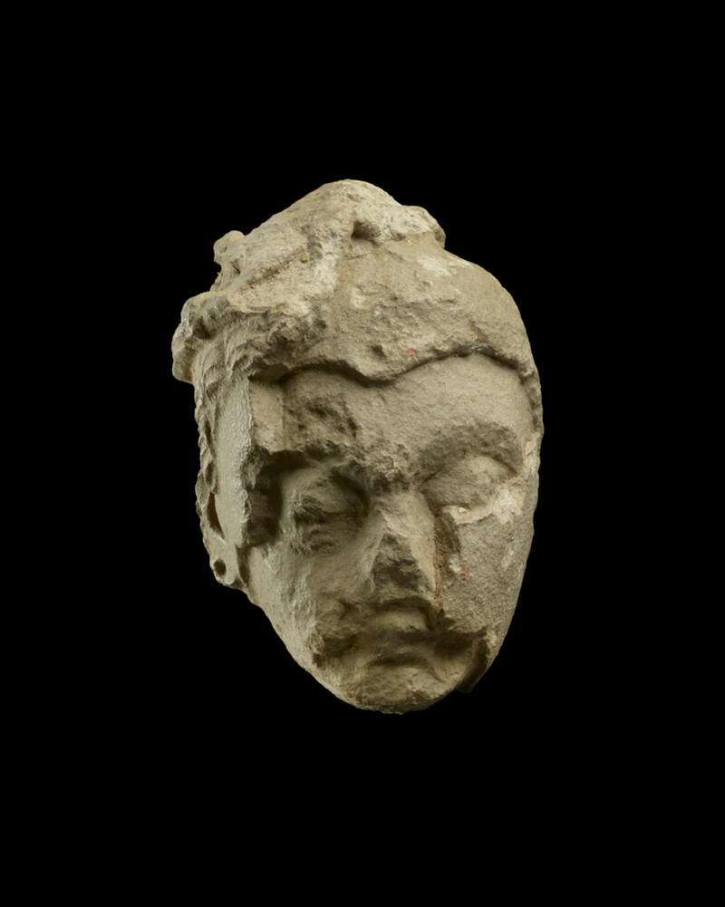 Head of a bodhisattva (EA1953.201)