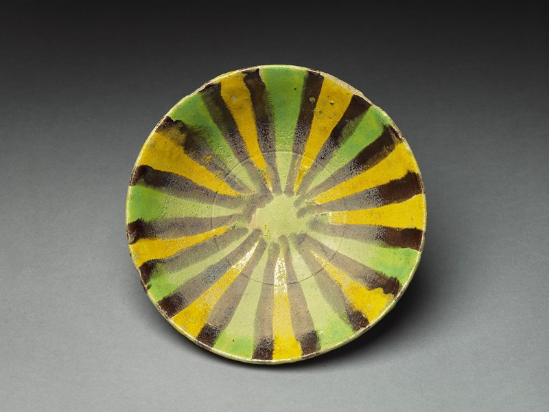 Bowl with radial decoration (EA1956.139, top            )