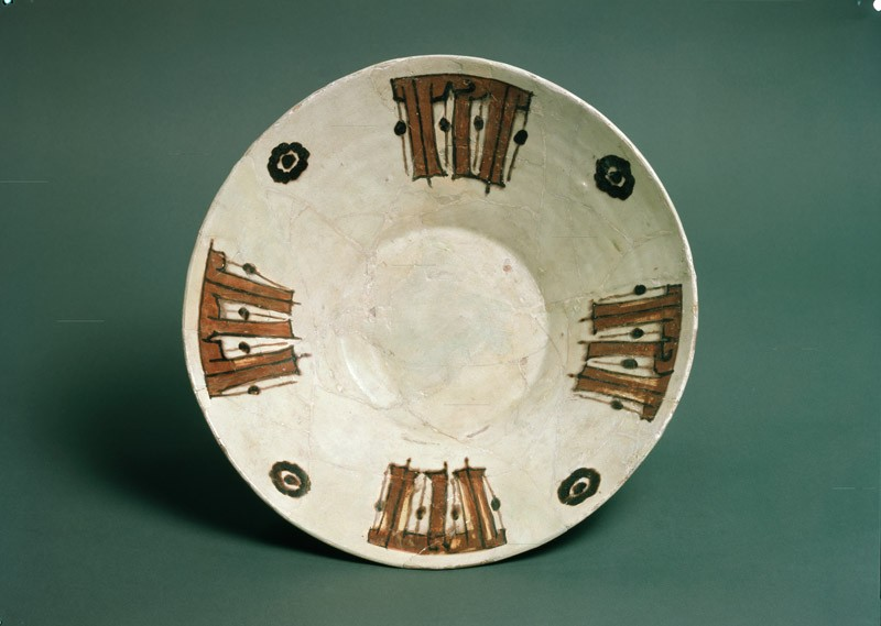Bowl with pseudo-kufic inscription (EA1956.166, top            )