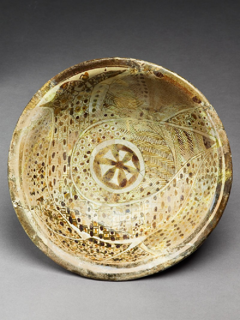 Bowl with peacock (EA1956.63, top           )