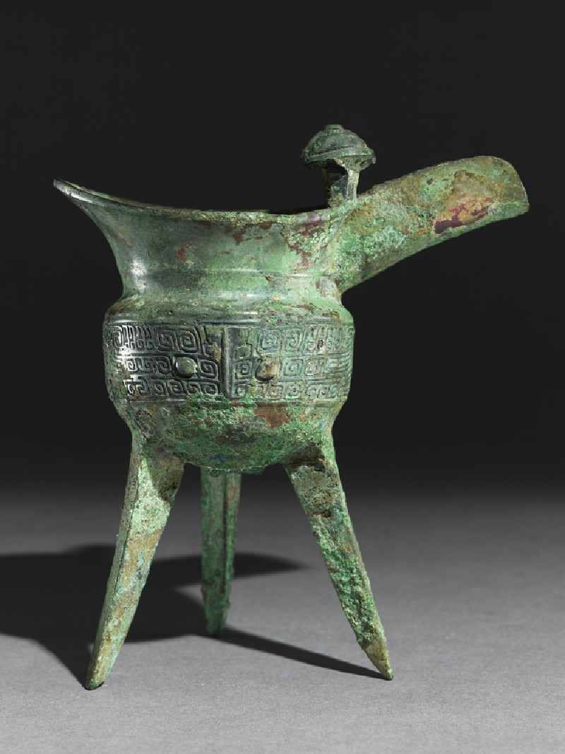 Ritual wine vessel, or jue