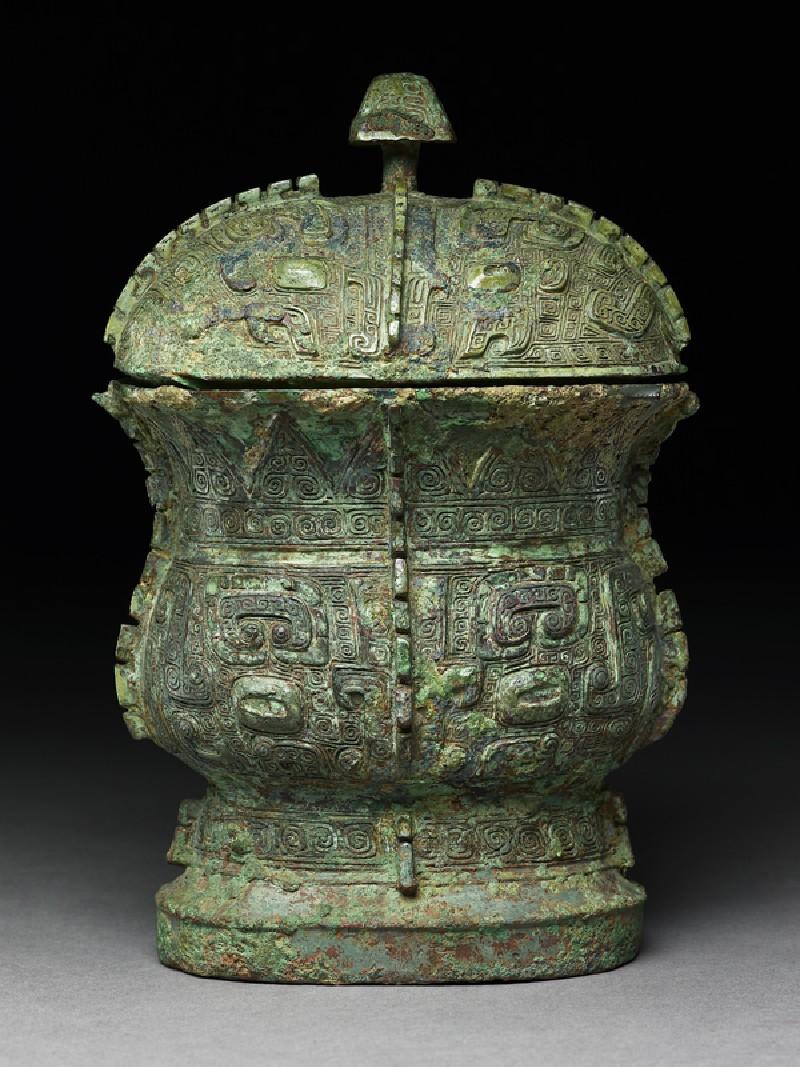 Ritual wine vessel, or zhi (EA1956.838, side            )