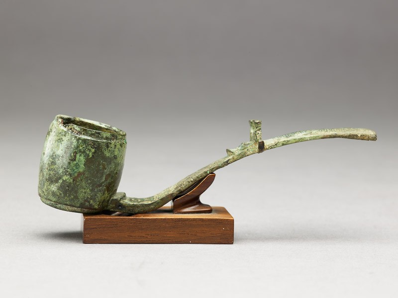 Ritual alcohol ladle with dragon (EA1956.843, side            )
