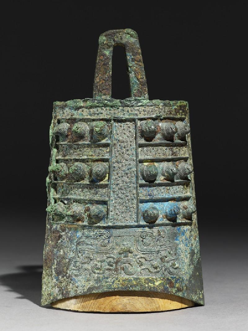 Ritual bell, or bo zhong (side            )
