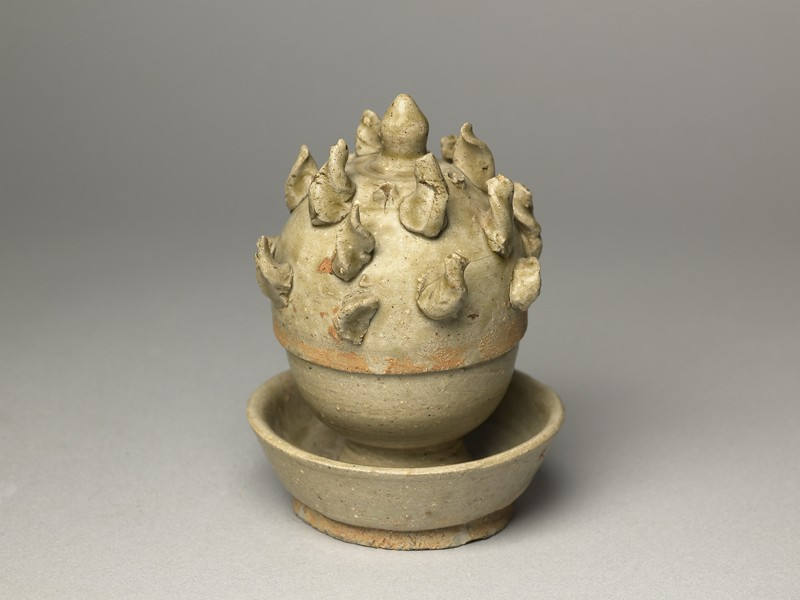 Greenware boshanlu, or hill censer (EA1956.956, oblique            )