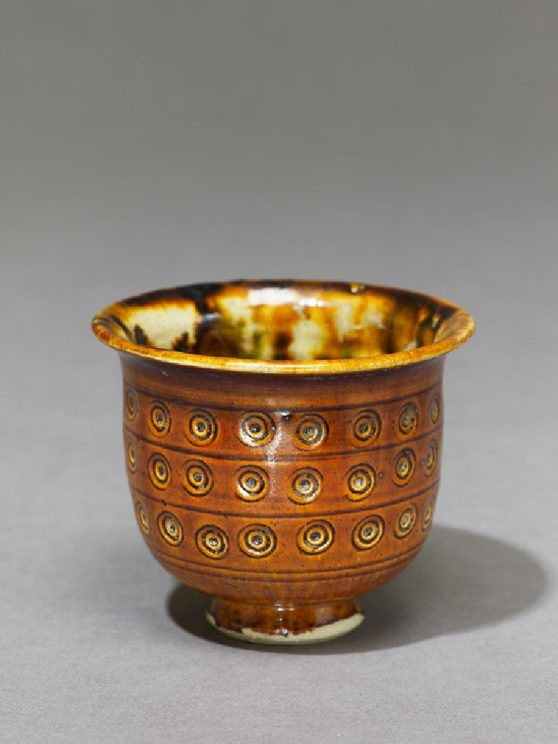 Cup with incised decoration (EA1956.1051, oblique             )