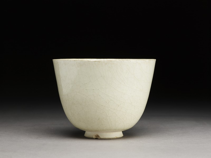 White ware cup