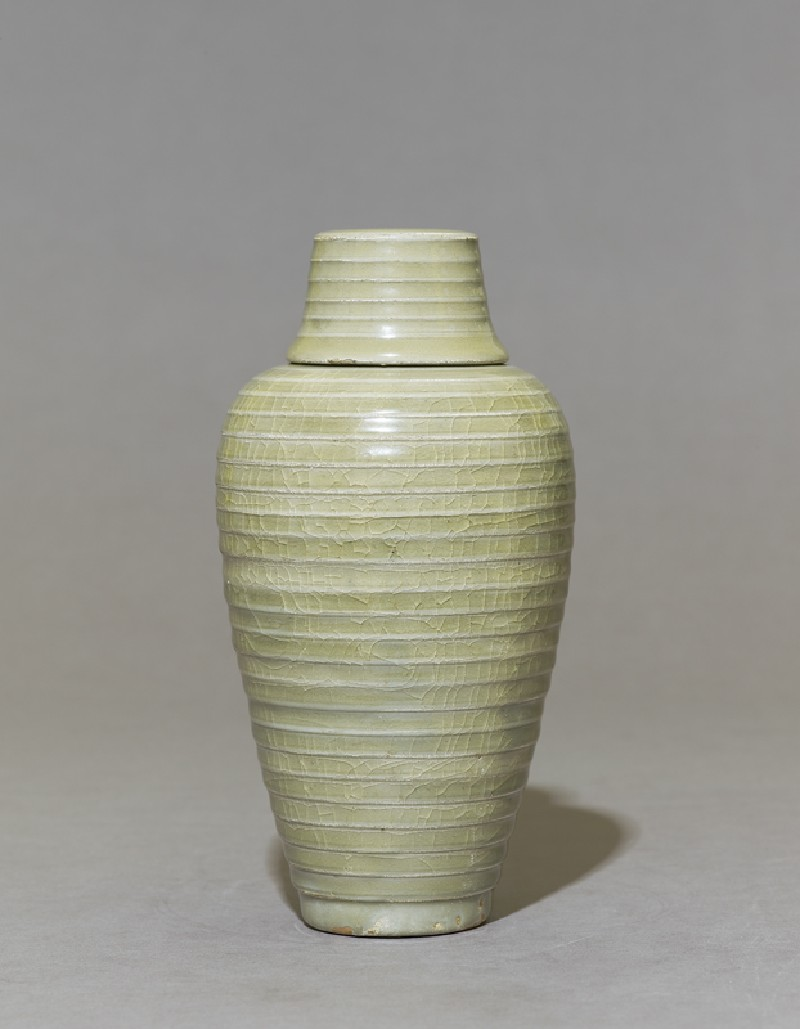 Greenware meiping, or plum blossom, vase (EA1956.1236, side             )