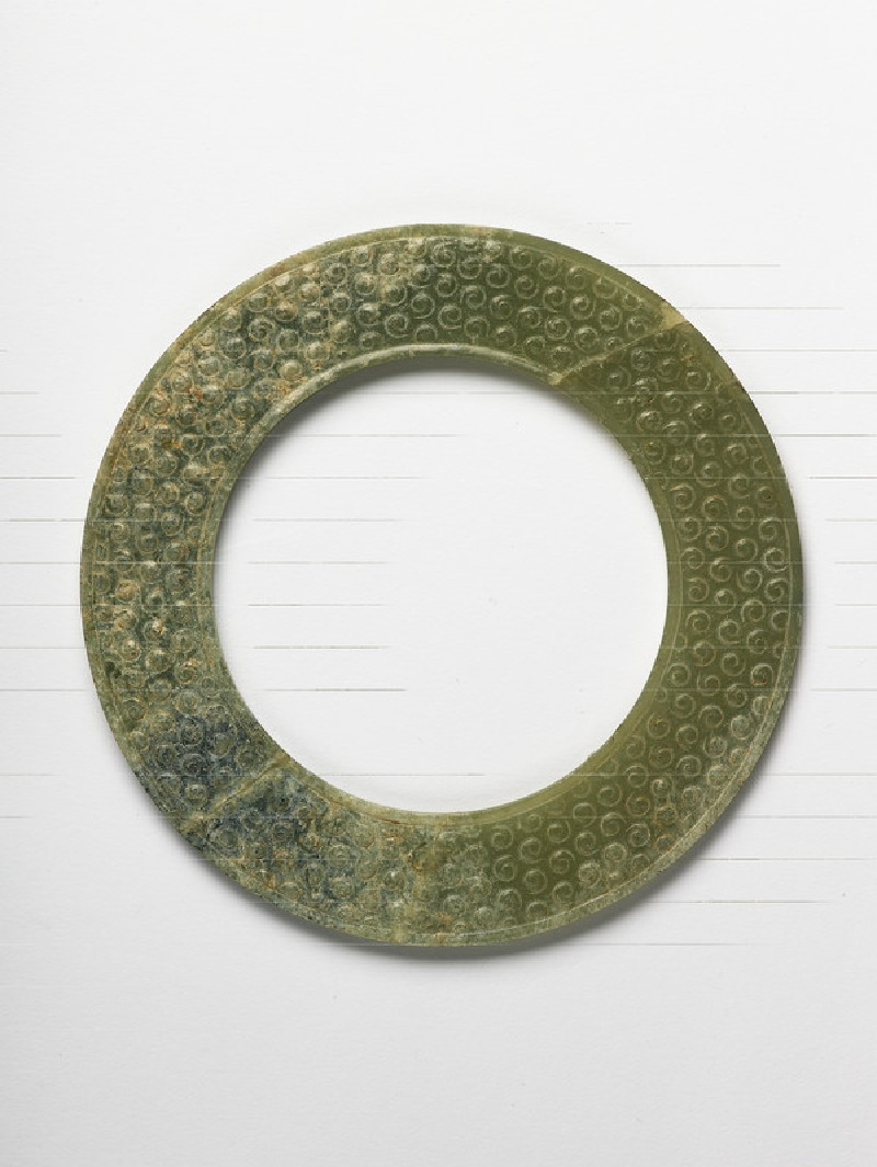 Ring, or bi, with spiral decoration (EA1956.1603)