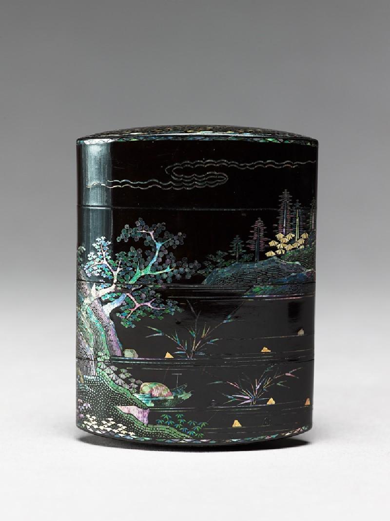 Inrō with landscape (EA1956.1746, front             )